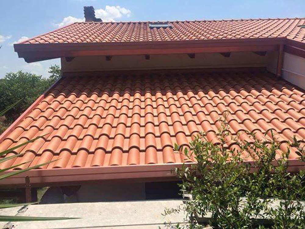 Coppi e tegole canadesi e tegole standard for Tegole del tetto della casetta